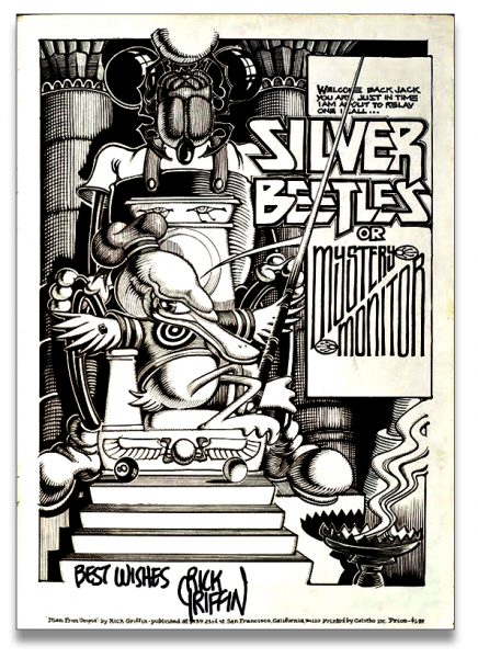 Silver Beetles Poster